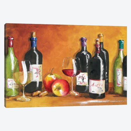 Fall Wine Canvas Print #TCK53} by Malenda Trick Canvas Print