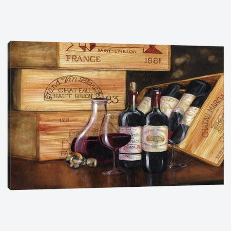 Gran Vin IV Canvas Print #TCK55} by Malenda Trick Canvas Artwork
