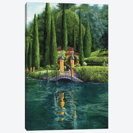 Lake Como  Canvas Print #TCK59} by Malenda Trick Canvas Print