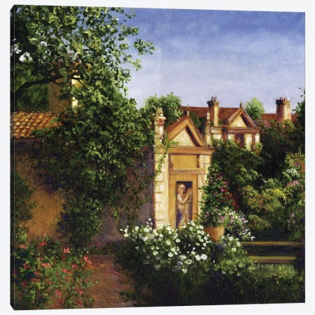 Neoclassical Villa Canvas Print #TCK60} by Malenda Trick Canvas Art