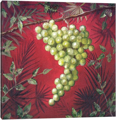 Sicillian Grapes I Canvas Art Print