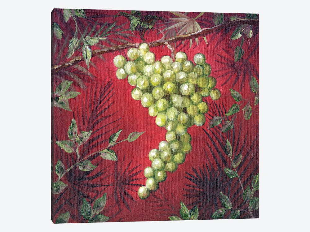 Sicillian Grapes I by Malenda Trick 1-piece Canvas Artwork