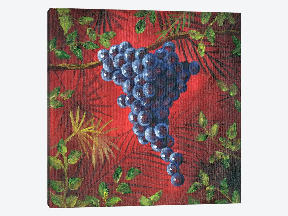 Sicillian Grapes II by Malenda Trick 1-piece Art Print