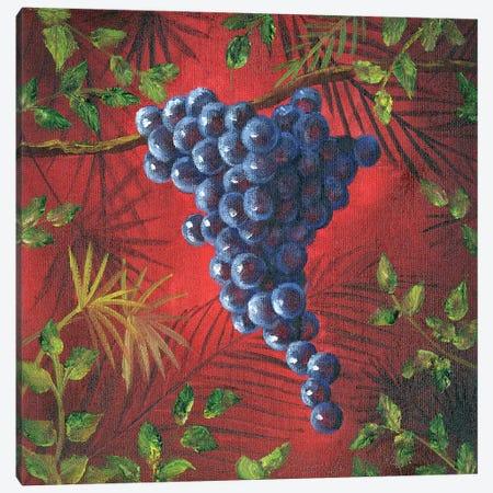 Sicillian Grapes II Canvas Print #TCK62} by Malenda Trick Canvas Art