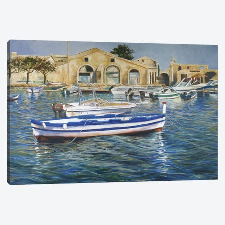 Siracusa Canvas Print #TCK63} by Malenda Trick Canvas Art
