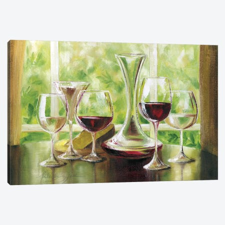 Sunday Brunch Canvas Print #TCK68} by Malenda Trick Canvas Artwork