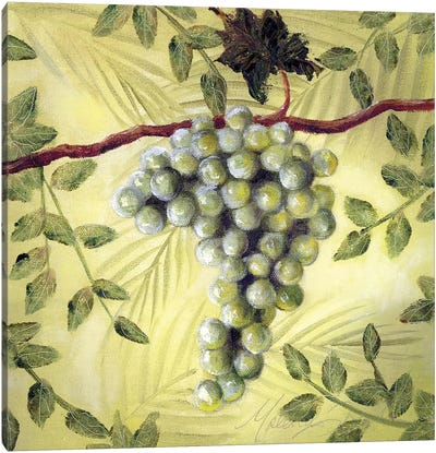 Sunshine Grapes II Canvas Art Print