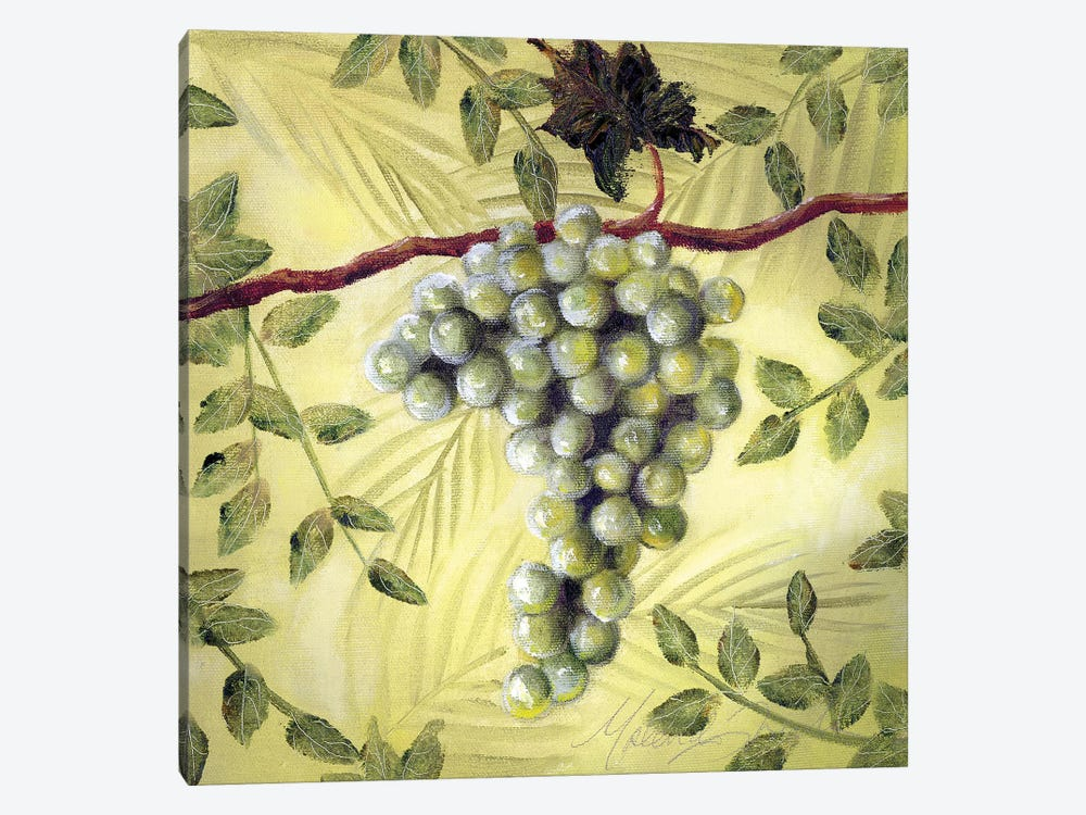 Sunshine Grapes II by Malenda Trick 1-piece Canvas Wall Art