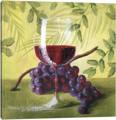 Sunshine Grapes V Canvas Art Print