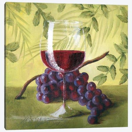 Sunshine Grapes V Canvas Print #TCK72} by Malenda Trick Art Print