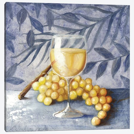Sunshine Grapes VII Canvas Print #TCK74} by Malenda Trick Canvas Art