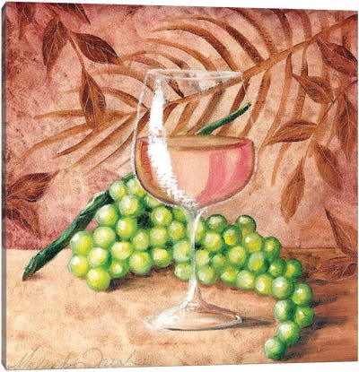 Sunshine Grapes VIII Canvas Art Print