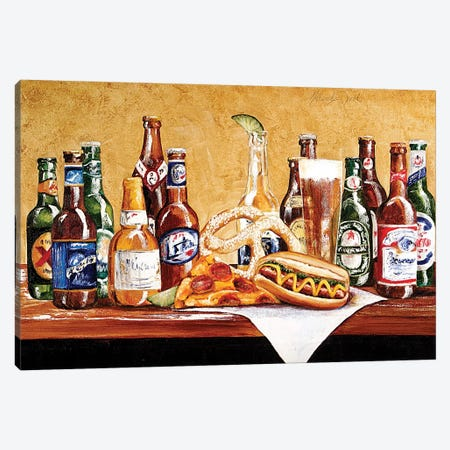 Super Bowl Sunday Canvas Print #TCK76} by Malenda Trick Canvas Artwork