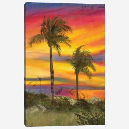 Tiger Tail Sunset Canvas Print #TCK79} by Malenda Trick Canvas Art Print
