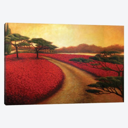Tuscan Path II 3-Piece Canvas #TCK81} by Malenda Trick Canvas Artwork