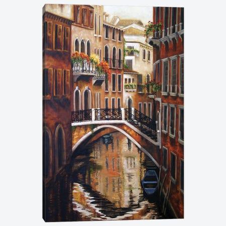 Venice Bridge II Canvas Print #TCK82} by Malenda Trick Canvas Wall Art