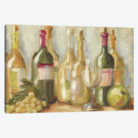 Vino Blanco Canvas Print #TCK85} by Malenda Trick Canvas Print