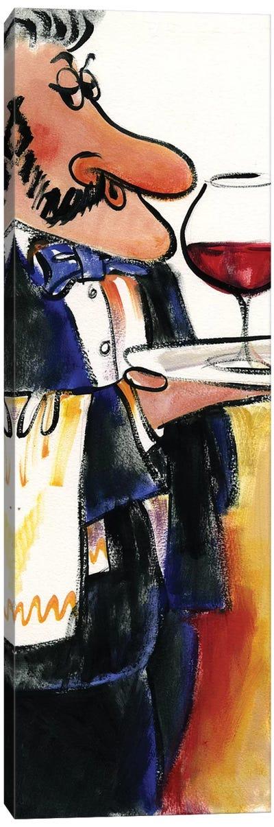 Waiter I Canvas Art Print