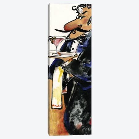 Waiter IV Canvas Print #TCK89} by Malenda Trick Canvas Artwork