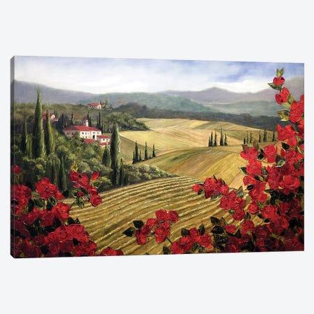 Wild Roses Canvas Print #TCK90} by Malenda Trick Canvas Print
