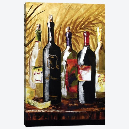 Wine Group III Canvas Print #TCK92} by Malenda Trick Canvas Print