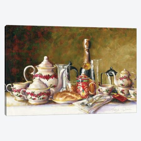 Coffee, Tea, And Thee Canvas Print #TCK97} by Malenda Trick Canvas Artwork