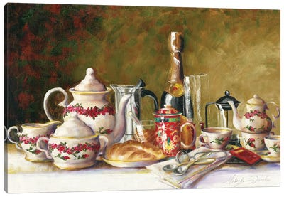 Coffee, Tea, And Thee Canvas Art Print