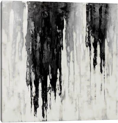 Neutral Space Noir I Canvas Art Print