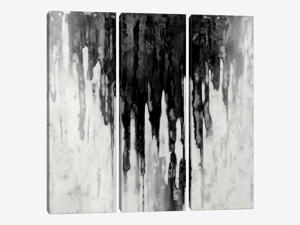 Neutral Space Noir II by Tom Conley 3-piece Canvas Wall Art