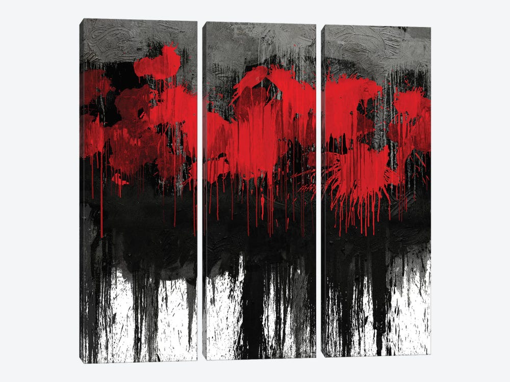 Unleashed by Tom Conley 3-piece Canvas Print