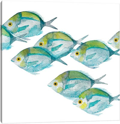 Fishes Canvas Art Print