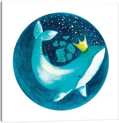 Magic Whale II Canvas Art Print