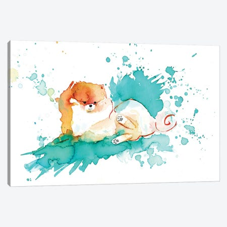 Pomi Canvas Print #TCW28} by The Cosmic Whale Canvas Wall Art