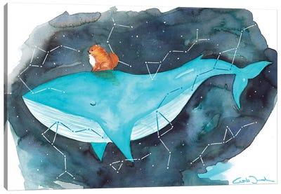 Pomi Whale Canvas Art Print