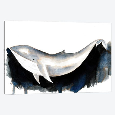 Whale II 3-Piece Canvas #TCW44} by The Cosmic Whale Art Print