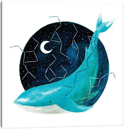 Cosmic Whale III Canvas Art Print