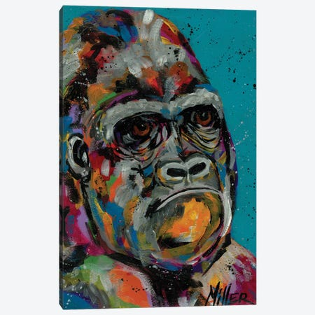 Smug Canvas Print #TCY110} by Tracy Miller Canvas Print