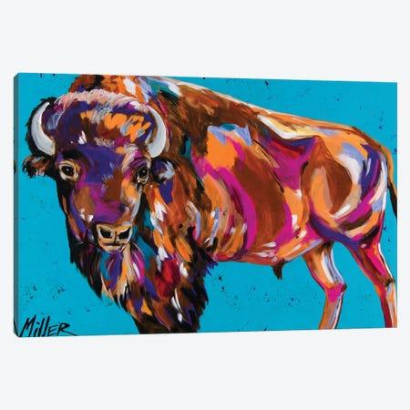 Tatanka Canvas Print #TCY123} by Tracy Miller Canvas Wall Art