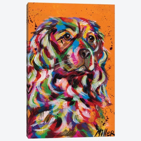 That Mane! Canvas Print #TCY124} by Tracy Miller Canvas Print