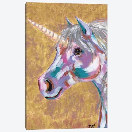 Unicorn Canvas Print #TCY132} by Tracy Miller Art Print