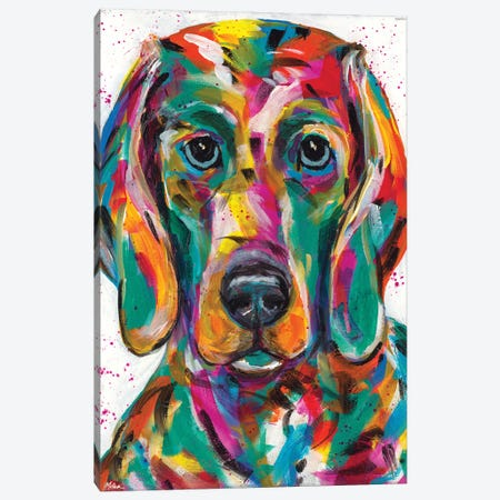 Weimaraner Canvas Print #TCY134} by Tracy Miller Canvas Art