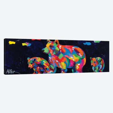 Mama Bear Canvas Print #TCY149} by Tracy Miller Canvas Wall Art