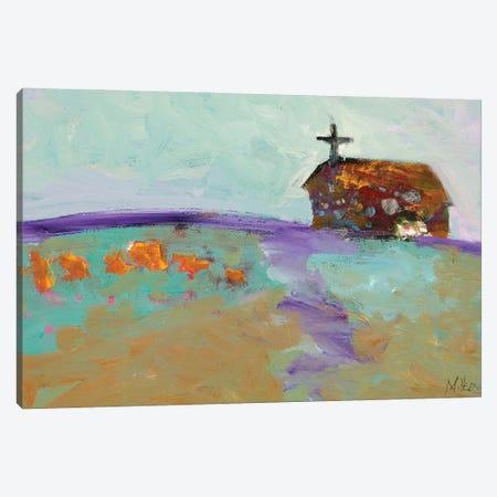 Southwestern Church Canvas Print #TCY164} by Tracy Miller Canvas Print