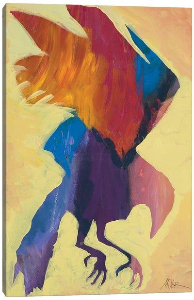 Eagle Wings Canvas Art Print