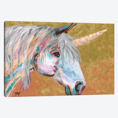 Unicorn Magic Canvas Print #TCY186} by Tracy Miller Canvas Print