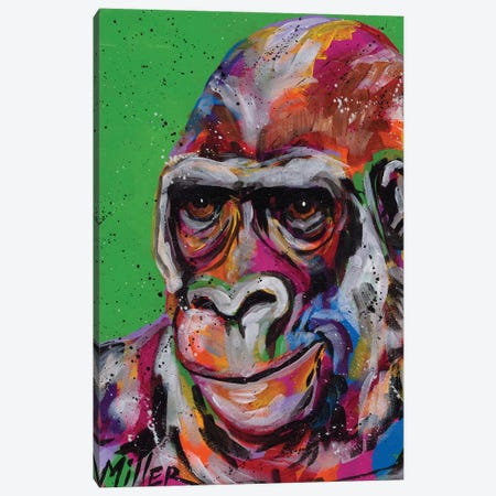 The Thinker Canvas Print #TCY191} by Tracy Miller Canvas Art Print