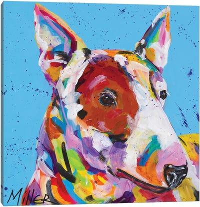 American Pit Bull Terrier Canvas Art Print