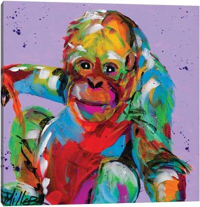 Baby Orangutan Canvas Art Print