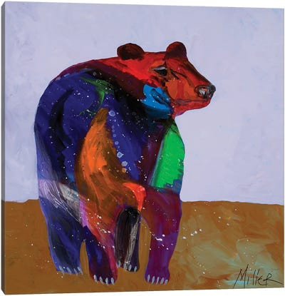 Big Bear Canvas Art Print