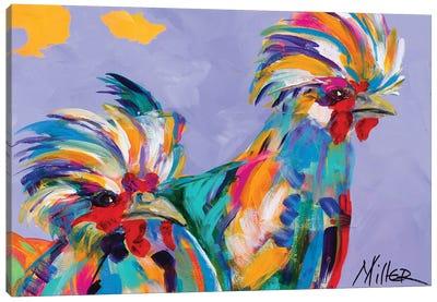 Big Birds Canvas Art Print